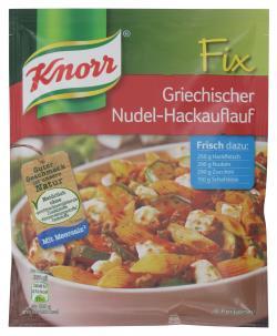 Knorr Fix Griechischer Nudel-Hackauflauf  (45 g) - 8712566364336