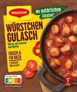 Maggi fix & frisch Würstchen Gulasch  (30 g) - 7613033804588