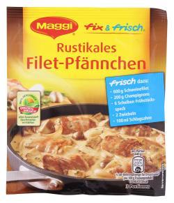 Maggi fix & frisch Rustikales Filet-Pfännchen  (36 g) - 7613034887436