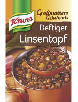 Knorr Gro�mutters Geheimnis Deftiger Linsentopf mit Speck  - 8712100405266