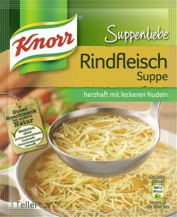Knorr Suppenliebe Rindfleisch Suppe  - 8712566403523