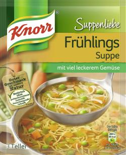 Knorr Suppenliebe Fr�hlings Suppe  - 8712566332175