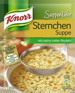 Knorr Suppenliebe Sternchen Suppe  - 8712566410255