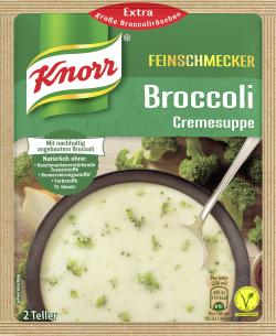 Knorr Feinschmecker Broccoli Cremesuppe  - 8712566405039