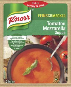 Knorr Feinschmecker Tomaten Mozzarella Suppe  - 8712566405695