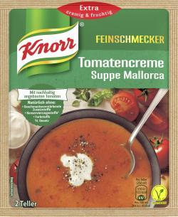 Knorr Feinschmecker Tomatencreme Suppe Mallorca  - 8712566405572