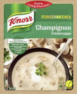 Knorr Feinschmecker Champignon Cremesuppe  - 8712566404957