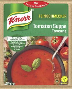 Knorr Feinschmecker Tomaten Suppe Toscana  - 8712566404438
