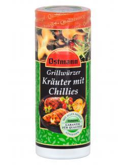 Ostmann Grillw�rzer Kr�uter mit Chillies  (45 g) - 4002674183061