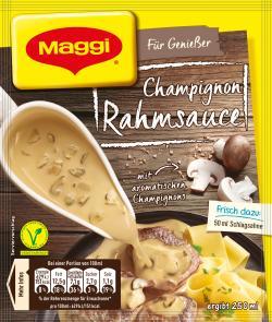 Maggi Meisterklasse Champignon-Rahm Sauce 2,36 EUR/100 g 812587