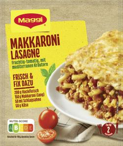 Maggi fix & frisch Makkaroni Lasagne  (40 g) - 7613034330444