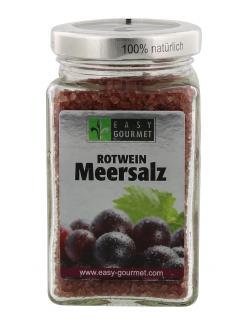 Easy Gourmet Rotwein Meersalz  (200 g) - 4250115717010