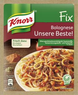 Knorr Fix Bolognese Unsere Beste!  (42 g) - 8712100584725
