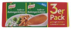 Knorr So�e zu Rahmgerichten  (3 x 0,25 l) - 8712100608865