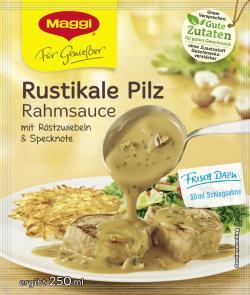 Maggi Für Genießer Rustikale Pilz Rahmsauce  (35 g) - 7613034768872