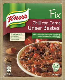 Knorr Fix Chili con Carne Unser Bestes!  (49 g) - 8712100671135