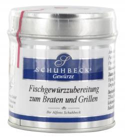 Schuhbecks Fischgew�rzzubereitung zum Braten und Grillen  (60 g) - 4049162180164