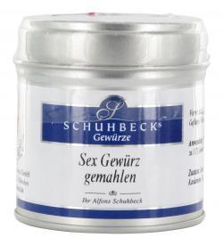 Schuhbecks Sex Gewürz  (45 g) - 4049162180232