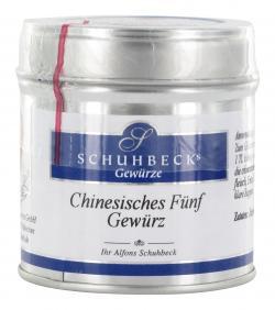 Schuhbecks Chinesisches Fünf Gewürz  (45 g) - 4049162180430