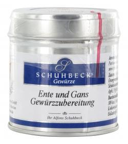 Schuhbecks Ente und Gans Gew�rzzubereitung  (40 g) - 4049162180461