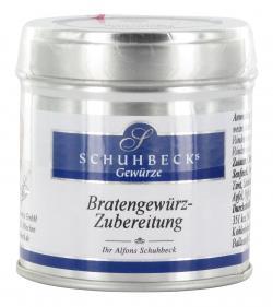 Schuhbecks Bratengewürz-Zubereitung  (40 g) - 4049162180409