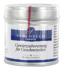 Schuhbecks Gewürzzubereitung für Geschnetzeltes  (45 g) - 4049162180539