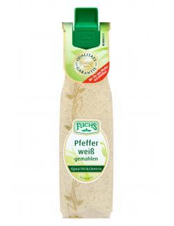 Fuchs Pfeffer weiß gemahlen  (33 g) - 4027900312442