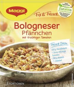 Maggi fix & frisch Bologneser Pf�nnchen  (38 g) - 7613035155534