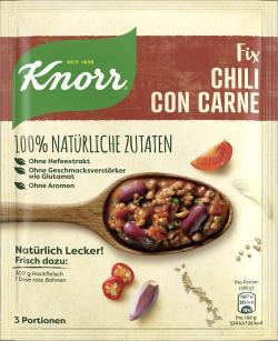 Knorr Nat�rlich Lecker! Chili Con Carne  (64 g) - 8712100795589