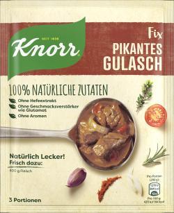 Knorr Natürlich Lecker! Pikantes Gulasch  (63 g) - 8712100795657