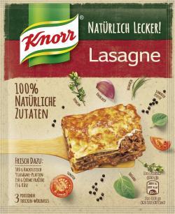 Knorr Nat�rlich Lecker! Lasagne  (60 g) - 8712100795619