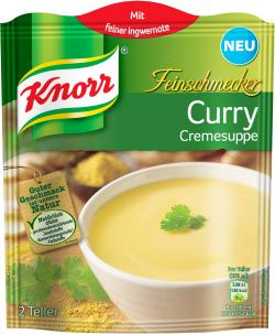 Knorr Feinschmecker Curry Cremesuppe  - 8712100724053