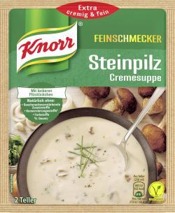 Knorr Feinschmecker Steinpilz Cremesuppe  - 8712100831102