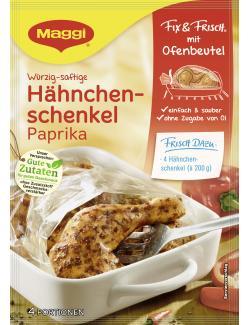 Maggi Fix & Frisch mit Ofenbeutel H�hnchenschenkel Paprika  (30 g) - 7613035422513