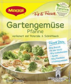 Maggi Fix & Frisch Gartengemüse Pfanne  (36 g) - 7613035473140