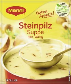 Maggi Guten Appetit Steinpilz-Suppe  - 7613035161061