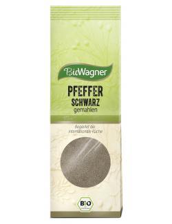 BioWagner Pfeffer schwarz gemahlen  (70 g) - 4049164123589