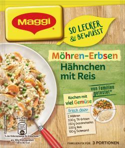 Maggi Familien Fix & Frisch Möhren-Erbsen Hähnchen  (40 g) - 7613035617384