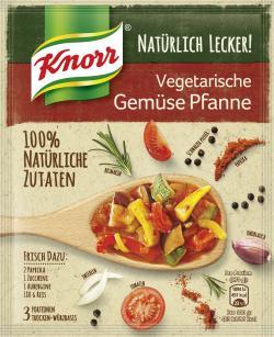 Knorr Natürlich lecker! Vegetarische Gemüsepfanne  (60 g) - 8710908906183