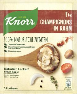 Knorr Nat�rlich lecker! Champignons in Rahm  (32 g) - 8710908956928