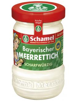 Schamel Bayerischer Meerrettich scharf & w�rzig  (145 g) - 4000515001024