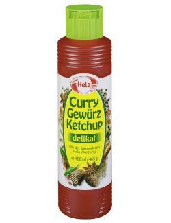 Hela Curry Gew�rz Ketchup delikat  (400 ml) - 4027400168372