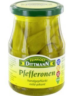 Feinkost Dittmann Pfefferonen mild-pikant  (170 g) - 4002239640503