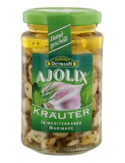 Feinkost Dittmann Ajolix Kräuter Knoblauch  (225 g) - 4002239667203