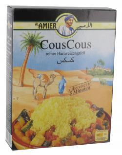 Al Amier CousCous reiner Hartweizengrie�  (500 g) - 4013200382001