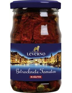 Leverno Getrocknete Tomaten in �l mit Knoblauch und Kapern  (280 g) - 4013200334345
