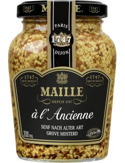 Maille Senf nach alter Art mit Wei�wein  (200 ml) - 3036810207589