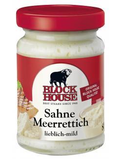 Block House Sahne-Meerrettich lieblich-mild  (95 ml) - 4009286121818