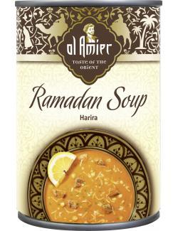 Al Amier Ramadan-Suppe Harira mit Lammfleisch  (400 ml) - 4013200387808