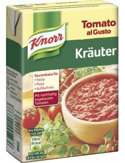 Knorr Tomato al Gusto Kr�uter  (370 g) - 4038700117373